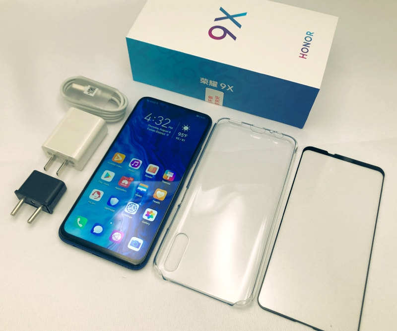 Honor 9X unboxed