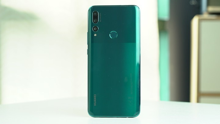 Back of the Huawei Y9 Prime 2019