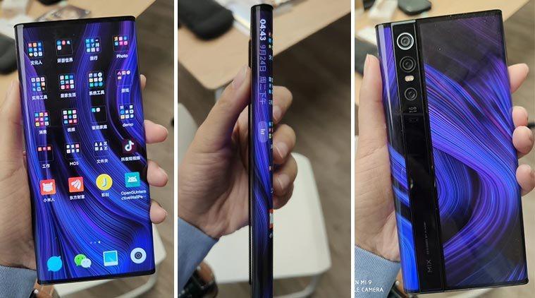 Xiaomi Mi Mix Alpha Has A Futuristic And Weird Display