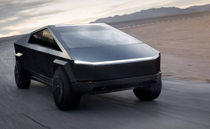 Tesla Cybertruck black colors