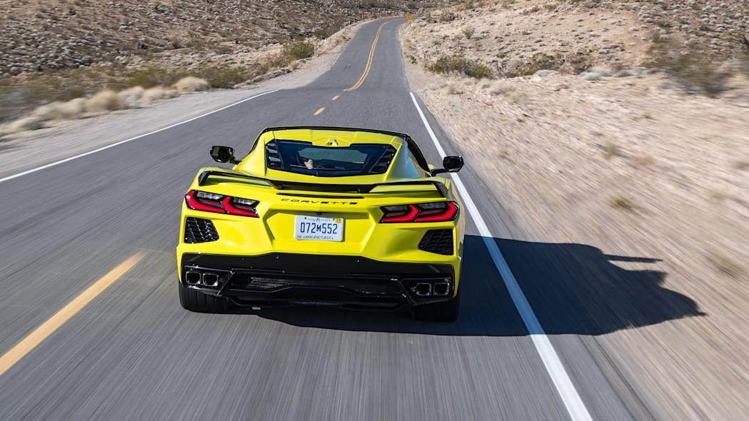 Back of the 2020 Chevrolet Corvette Stingray