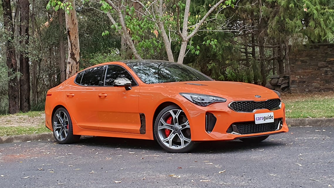 2021 Kia Stinger Face-lift