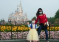 The disneyland in Shanghai reopens