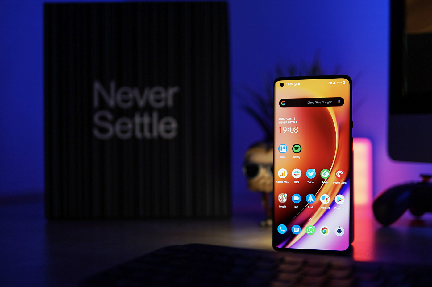 The display of the OnePlus 8 Pro