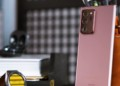 The Samsung Galaxy Note 20 Ultra camera bump