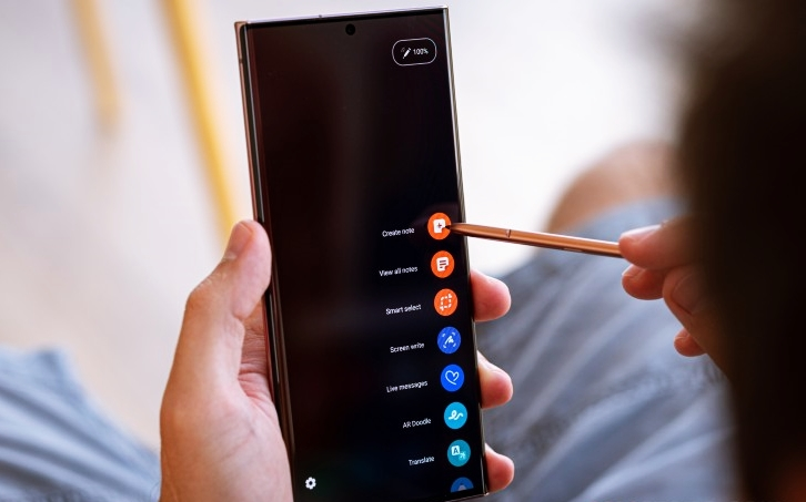 The Samsung Galaxy Note 20 Ultra S Pen is improved