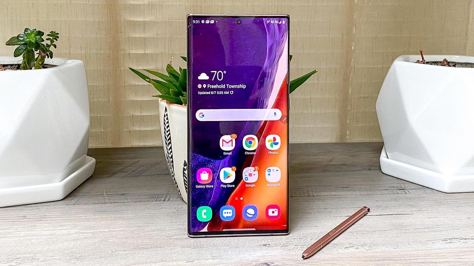 Samsung Galaxy Note 20 Ultra image