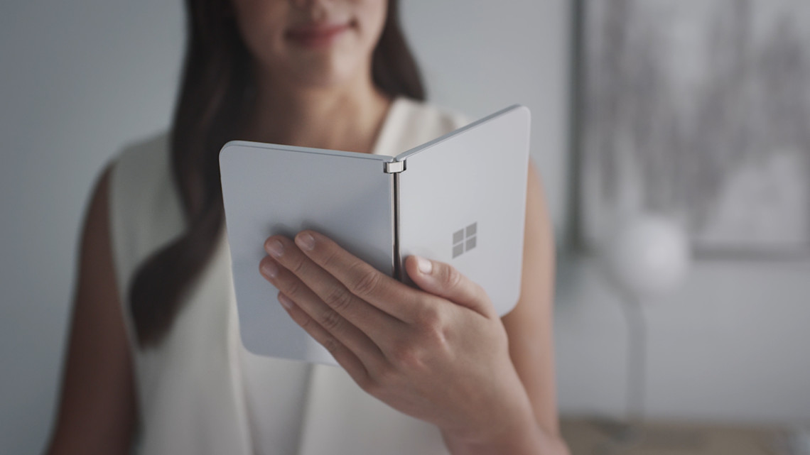 Microsoft Surface DuoMicrosoft Surface Duo form factor
