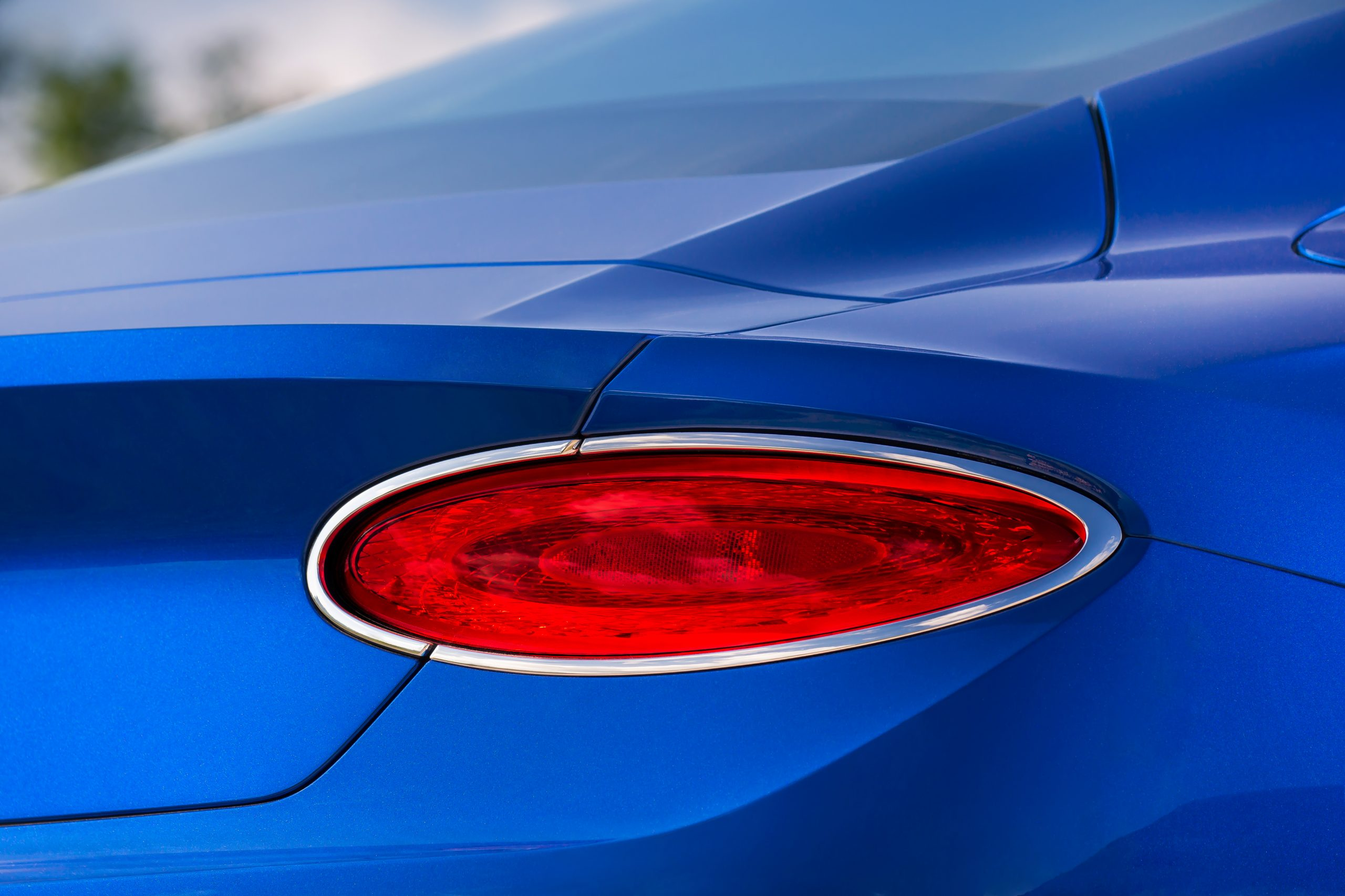 Bentley Continental GT taillights