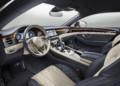 Bentley Continental GT interior pictures