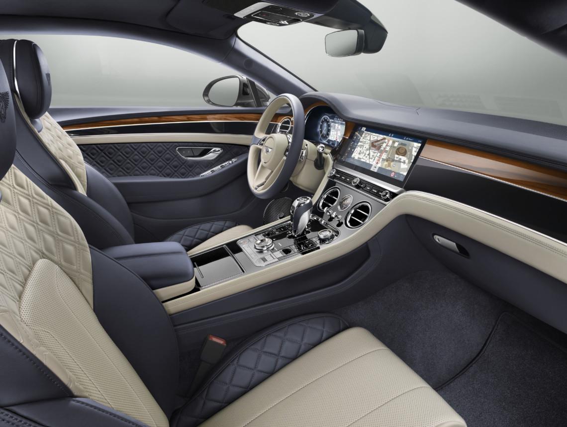 Bentley Continental GT interior design