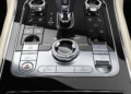 Bentley Continental GT central console design