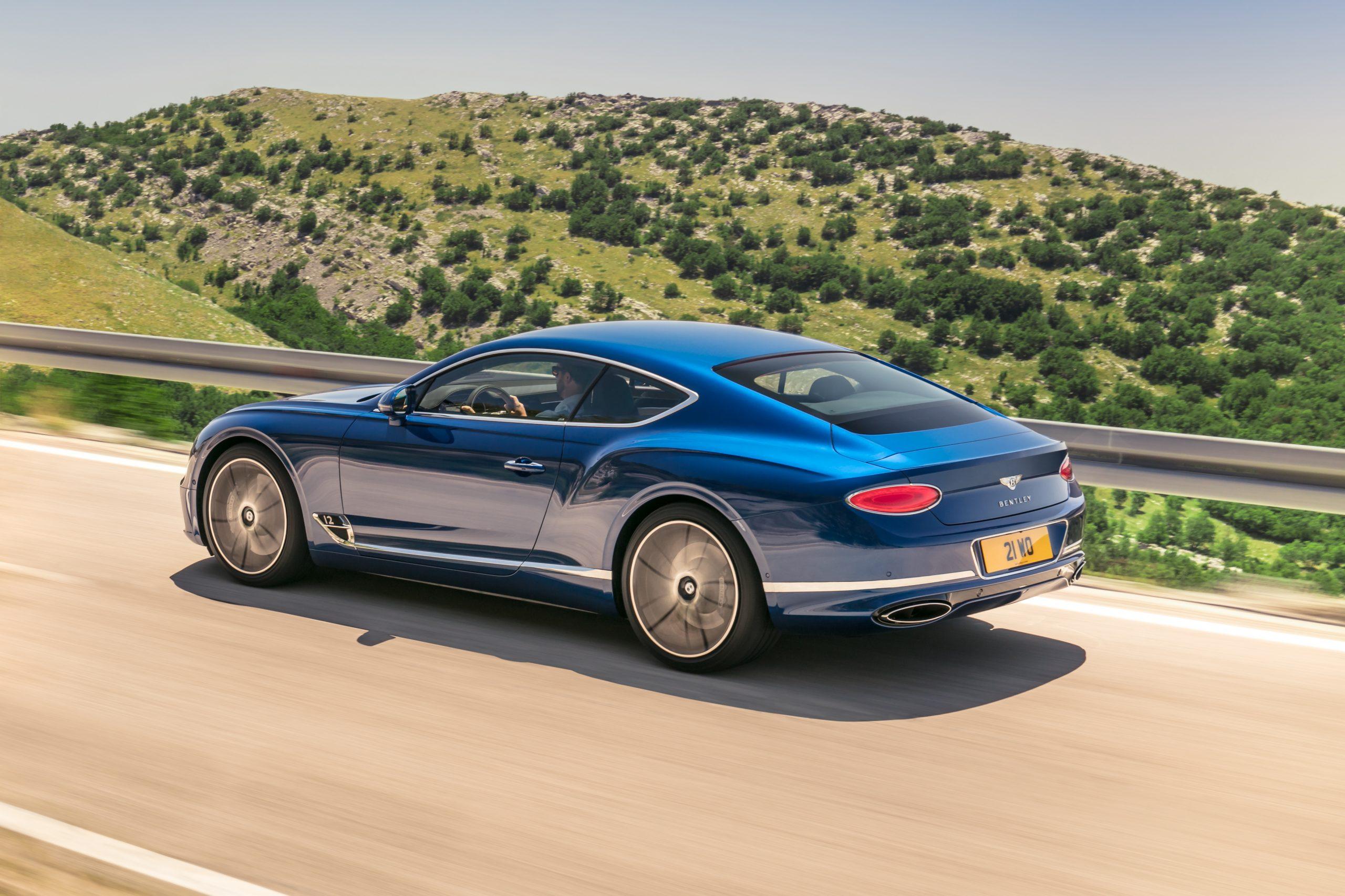 Bentley Continental GT design