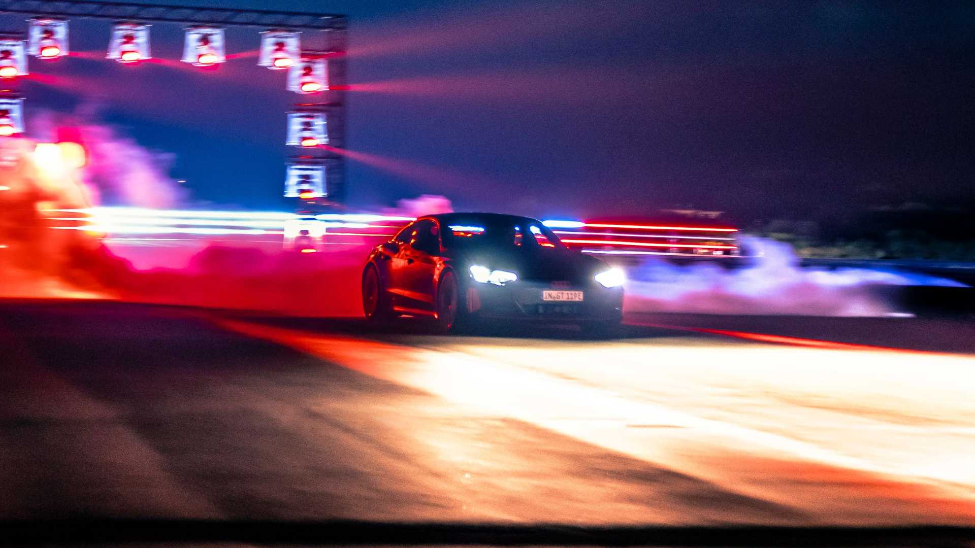 RS E-Tron GT  speed
