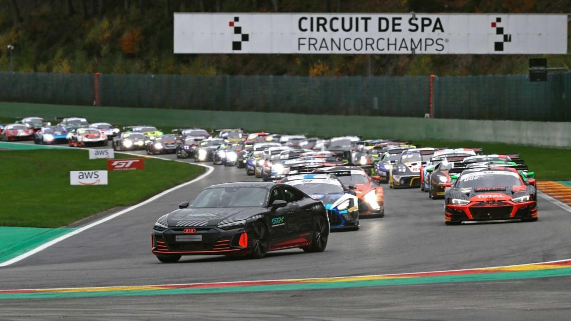 RS E-Tron GT rally