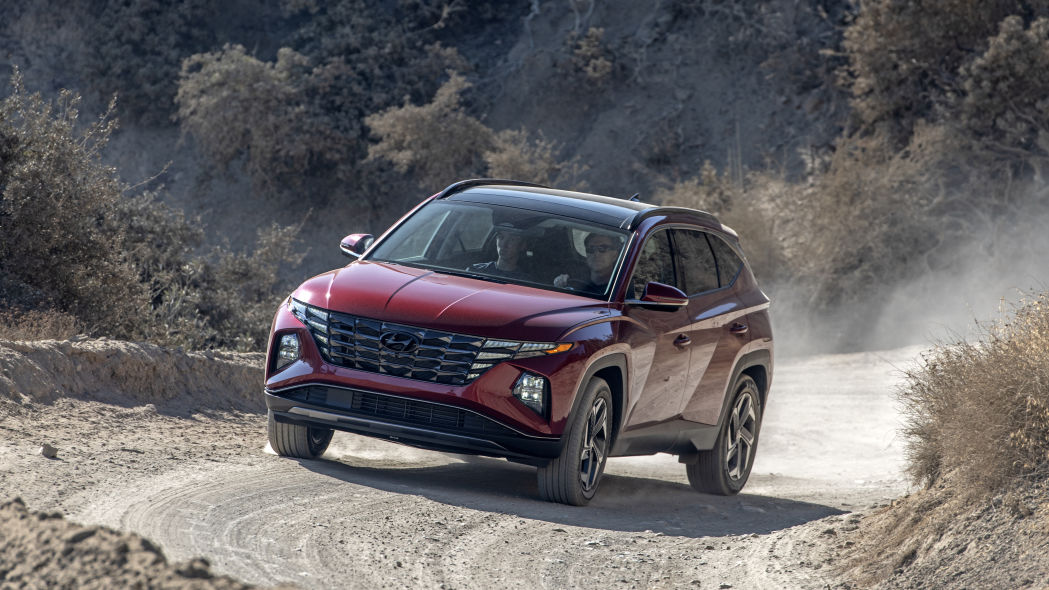 Hyundai Tucson 2022 offroad