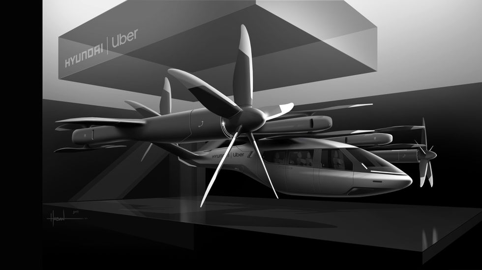 The Hyundai Uber Air concept S-A1