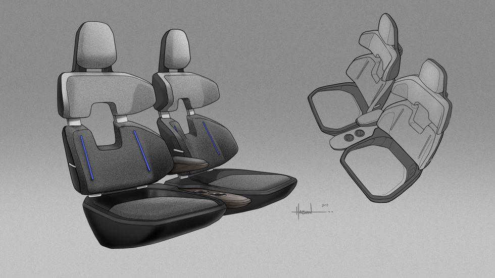 Hyundai Uber Air seat