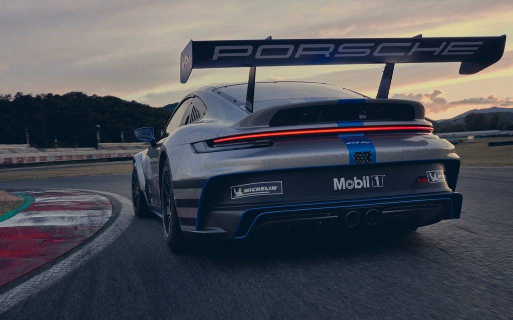 Porsche 911 GT3 Cup 2021 rear wing
