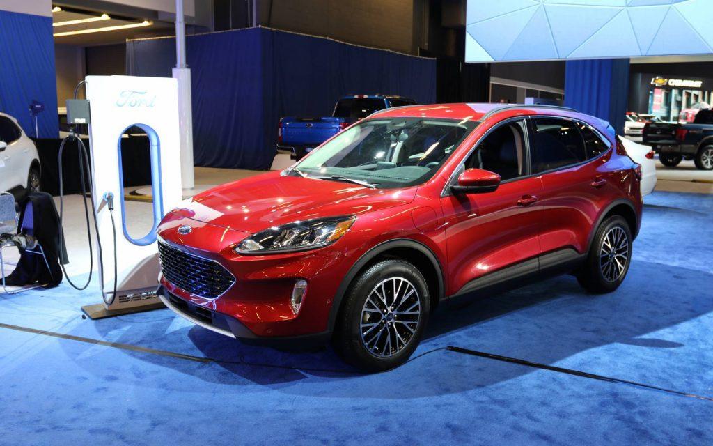 Ford Escape 2021 facelift