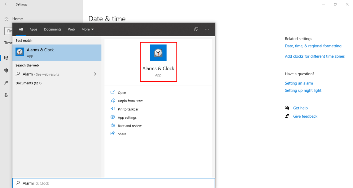 set two time zones on windows 10 OS
