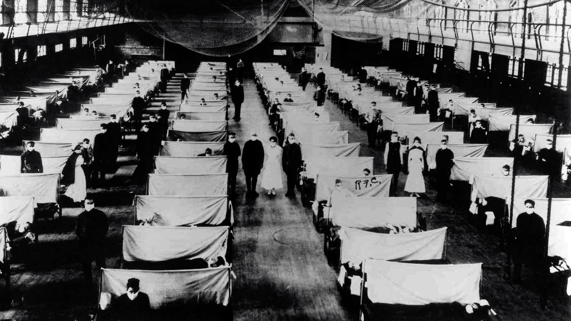 Spanish Flu in 1918