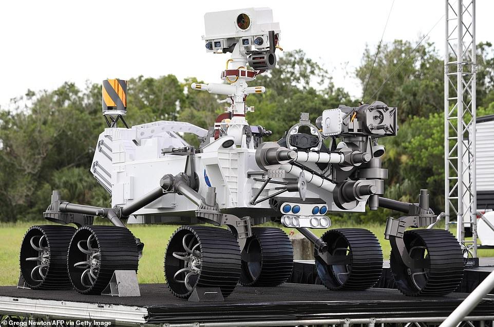 NASA Perseverance rover showcase