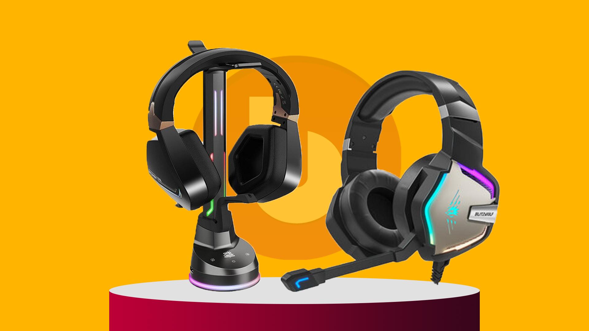 BlitzWolf® Affordable Gaming headphones deal